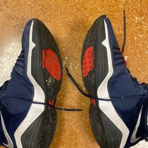 Size 14 navy Paul George 2's.